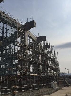 野球場 新築工事